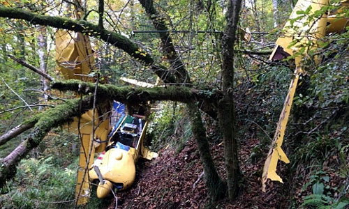 Accidente aéreo en el Béarn