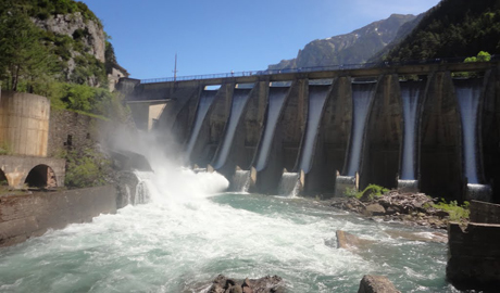 Embalse Canfranc